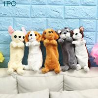 New Kawaii Cartoon Plush Toy Dog Pencil Case Cute Animal Pen Bag School Supplies