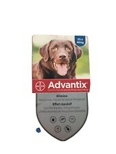 Advantage 400mg Flea Treatment for Large Dogs 25- 40kg 6 Pipettes New