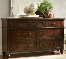 5587a3afe7c7 Cortona Extra Wide Dresser with 7 Drawers Color Alfresco Brown By Pottery  Barn