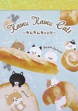 Crux Kamu Kamu Cats Mini Memo Pad~KAWAII!!