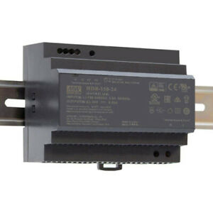 Meanwell HDR-150-24 Ultra Slim DIN Rail Power Supply