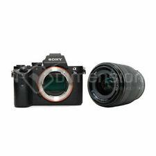 Appareils photo numériques noirs Sony A7II