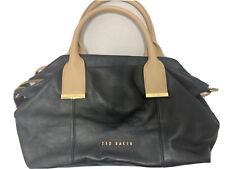 TED BAKER Black Leather Tote/Shoulder Medium/Small Bag