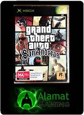 Grand Theft Auto: San Andreas (Xbox & Xbox 360 playable) Open World PAL