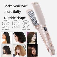 Professional Hair Fluffy Hair Perm Splint Ceramic Volumizing Hair Iron LCD US EU