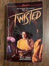R.L. Stine Twisted horror YA paperback 1987