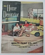 1953 HOME DECORATOR,  SHERWIN- WILLIAMS, Shults Paint Co., Inc. Kingston, NY