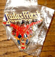 JUDAS PRIEST DEFENDERS 1984 TOUR BADGE FROM THE COLLECTION OF DAVE HOLLAND