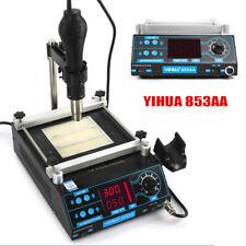 Smd Pcb Preheater Bga Rework Preheating Station Yihua 853a Hot Air Gun