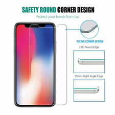Apple iPhone X Screen Protector Best Tempered Glass Thin Protection UK SELLER