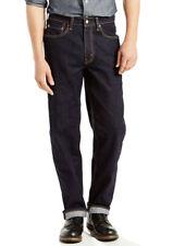 Men's LEVI'S Relaxed Fit 550 Jeans STRETCH Denim Cotton Dark Blue 36 34 33 32 30