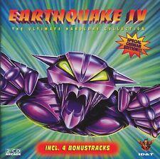 Earthquake IV - 2CD - HARDCORE GABBER - 4 - SPECIAL GERMAN EDITION - BONUSTRACKS