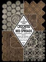 Grandmother Clark's #27 c.1934 - Crocheted Motif Bedspreads Vintage Patterns