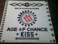 "AGE OF CHANCE - KISS  Jack-Knife Remixes      4-Track 12"" Vinyl Single   (1986)"