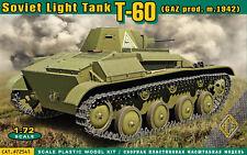 Ace 72541 - 1:72 t-60 Soviet Light Tank (gaz PROD.m.1942) - nuevo