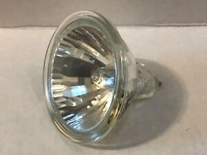 PHILIPS EXZ HALOGEN MR16 LAMP 24 DEGREE CLOSED FRONT 50W MADE IN GERMANY
