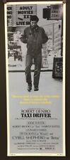 Taxi Driver 1976 Minty White Reproduction Movie Poster Insert *Hollywood Posters