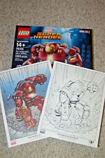 LEGO Marvel Super Heroes Hulkbuster: Ultron Edition (76105) & B&W / Color Prints
