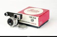 Lens Leica Summaron 2,8/35mm   for Leica m3