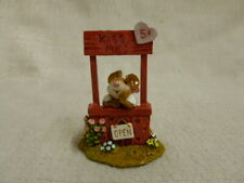 Wee Forest Folk Kissin' Kate Special Edition Red M-323 Mouse Valentine Retired