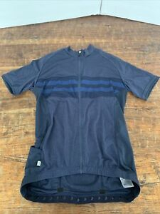 Louis Garneau Men's Classic Cycling Jersey - 2019 Small, Blue on blue. NEW w tag