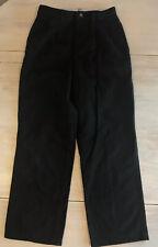 Boys Black Arrow Pleated Front Khakis Size 13 Slim