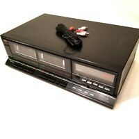 Vintage Fisher Studio Standard Stereo Double Cassette Deck Player Japan CR-W853