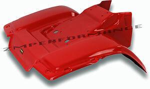 NEW HONDA ATC250SX 85 - 87 RED PLASTIC REAR FENDER ATC 250SX