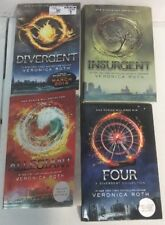Divergent Series 4 Books by Veronica Roth 2 Hardcover And 2 Paperback Books