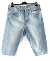 LEVI STRAUSS & CO ENGINEERED JEANS Men's Blue Denim Shorts Size L W36 k2905