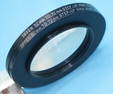 Lot of 2 - TIFFEN  Aluminum Step Up Ring 52mm - 72mm Filter Adapter, 52 72   z6