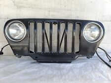 98-06 Jeep Wrangler TJ Grill GRILLE w/ LIGHTS OEM BLACK (PX8) - FREE SHIPPING