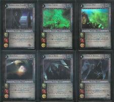 LOTR CCG TCG PROMO Wraith Collection 6 Card FOIL Set