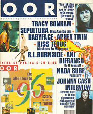 MAGAZINE OOR 1996 nr. 24 - KISS / SEPULTURA / JOHNNY CASH / TRACY BONHAM