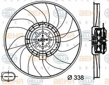 8EW 351 044-361 HELLA Fan  radiator Right