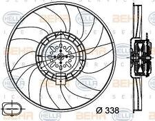 8ew 351 044-361 HELLA Ventilador Radiador Derecho