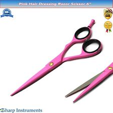 Hairdressing Barber Scissors 6'' Haircutting Salon Razor 16cm Salon Shear Sharp