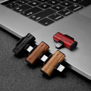 ICARER Double Lightning 2in1 Splitter Adapter for Headphone& Charging for iPhone