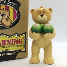 🍉 'BAD TASTE BEARS' RARE FIGURINE 'MEL' SUPERB CONDITION! BOXED! 🍉