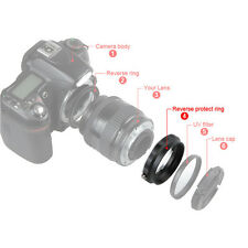 Rear Lens Reverse Protect Filter Ring for Canon EOS EF-S Macro Photo Shoot 58mm