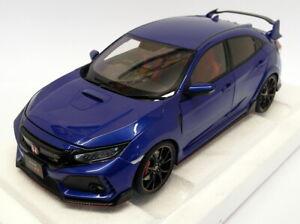 Autoart 1/18 Scale 73269 - Honda Civic Type R FK8 Brilliant Sporty Blue