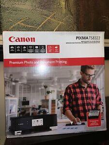 Canon Pixma TS8320 Inkjet All-In-One Printer - Black