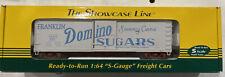 S Scale S-Helper Showcase Franklin Domino Sugars Box Car  #01643  1/64
