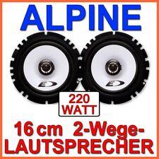 Alpine SXE-1725s - 2-Wege 16cm Altoparlante Sistema Auto 160mm Coppia Nuovo