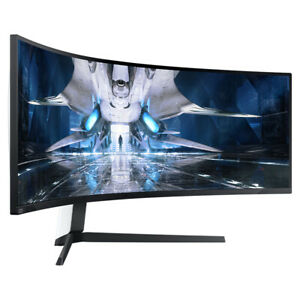 """SAMSUNG Odyssey Neo G9 Curved Gaming Monitor 49"""" 240Hz S49AG950 HDMI 2.1 Support"""