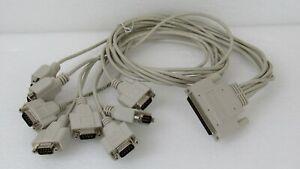 National Instruments NI 185196B-01 SH68-8DB9  1 Metre Cable