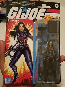 GI Joe Retro BARONESS Walmart Exclusive