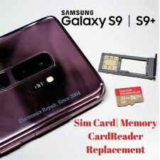 Samsung Galaxy S9 Sim Card Reader SD Memory Card Tray Reader Repair Replacement