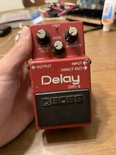 Vintage Boss DM-3 Analog Delay Effects Pedal Made in Japan MIJ