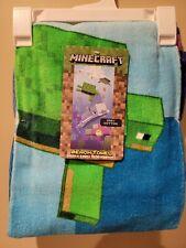 Minecraft Beach Towel 28 x 58 Inches 100% Cotton Kids Brand New